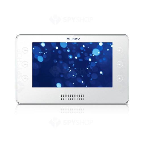 Kit videointerfon Slinex 1xUMA+1xKIARA-W, 1 familie, aparent, ecran 7 inch