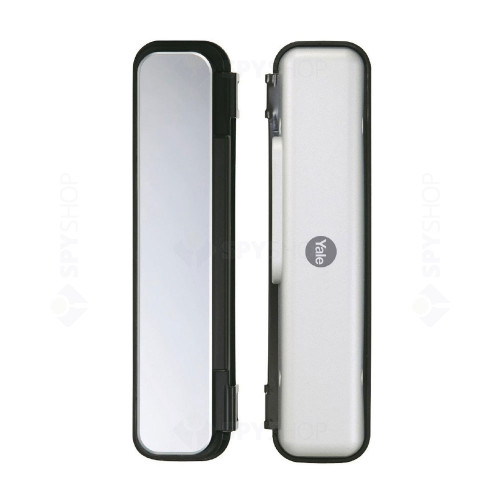 Yala digitala si opritor pentru usa de sticla YALE YDG313, protectie anti-soc electric, 4 cartele