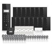 Set interfon pentru bloc Electra smart INT-ELEC-21, 15 familii