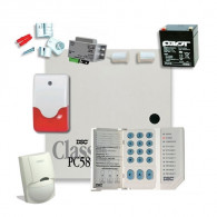 Sistem alarma antiefractie interior DSC Power KIT 585 INT