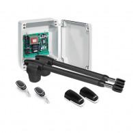 Kit automatizare poarta batanta Motorline LINCE 400 - 230V, 250 Kg/canat, 3 m/canat, 180 W
