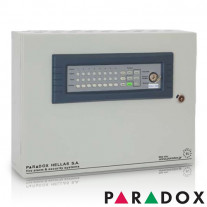 CENTRALA DE INCENDIU CU 8 ZONE PARADOX HELLAS MATRIX PH.MR.008.08