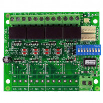 PLACA ADRESABILA GLOBAL FIRE J-NET-MPX-REL