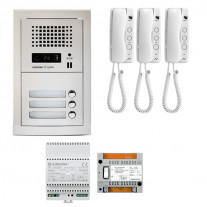 SET INTERFON CU 3 POSTURI DE INTERIOR AIPHONE GTA3E