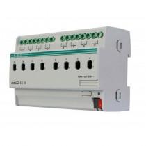 Actuator cu comutare KA/RO0816.1, 8 canale, oprire/pornire temporizata, declansare la praguri