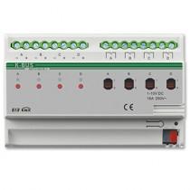 Actuator cu dimmer 0-10V ADTV-04/16.1, 4 canale, transmitere status, 100-240Vca