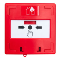 Buton iesire de urgenta SCP-100-rd, 3 comutatoare, aparent, ABS