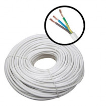 Cablu alimentare MYYM 3x1.5, 3x1.50 mm, plat, rola 100 m
