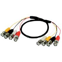 Cablu coaxial cu 4 fire WC 414/3