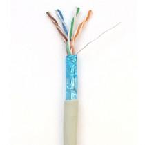 Cablu FTP Cat5e CUPRU ECRANAT/1m