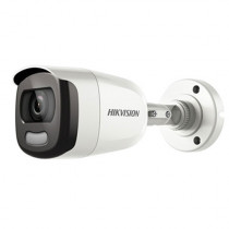 Camera de supraveghere Bullet Turbo HD de exterior Hikvision DS-2CE10DFT-F, 2 MP, IR 20 m, 3.6 mm