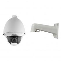 Camera de supraveghere Speed Dome IP Hikvision DS-2DE4225W-DE, 2 MP, 4.8 - 120 mm, 25X + suport