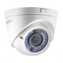 Camera supraveghere Dome PoC Hikvision DS-2CE56D0T-VFIR3E, 2 MP, IR 40 m, 2.8 - 12 mm
