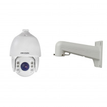 Camera supraveghere IP Speed Dome Hikvision DS-2DE7425IW-AE, 4 MP, IR 150 m, 4.8 - 120 mm, 25x + suport