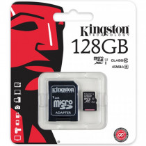 Card de memorie Kingston MicroSDHC 128GB