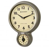 Ceas de perete cu cronometru Bresser MyTime Retro 8020410HZI000