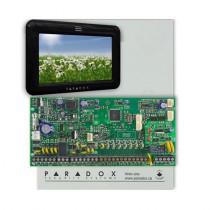 Centrala alarma antiefractie Paradox Spectra SP 6000+TM50 Touchscreen