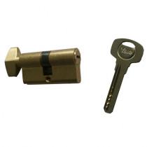 Cilindru de siguranta cu buton Yale 1000 A 01 CA K, 5 chei, 6 pini