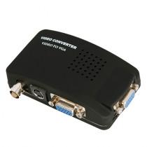 Convertor Semnal BNC si S-Video la VGA AD-UNV