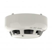 Detector adresabil de fum fotoelectric Hochiki ESP Marine ALN-ENM, aplicatii marine, vizibilitate 360 grade, carcasa ABS ivorie