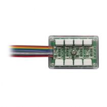 Distribuitor cablu ZH-8B, 8 intrari, 8 iesiri