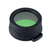 Filtru de culoare pentru lanterne Nitecore NFG50, 50 mm, verde