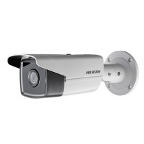 Camera de supraveghere IP Bullet de exterior Hikvision DS-2CD2T45FWD-I5 DarkFighter, 4 MP, IR 50 m, 2.8 mm