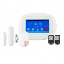 Kit alarma wireless KR-K5, 4.3 inch, 99 zone, WiFi, 3G