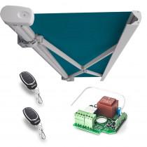 Kit automatizare copertina Motorline COFRE 136, 230 Vac, 90°, 433.92 MHz