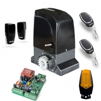 Kit automatizare poarta culisanta Motorline KIT OL2000, 110/230 V, 2000 Kg, 1000 W