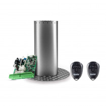 Kit stalp retractabil restrictionare acces auto Motorline MPIE10/800, 24 VDC, inox