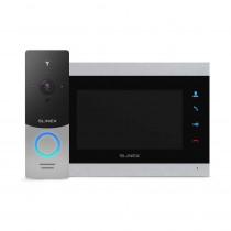 Kit videointerfon WiFi Slinex 1xML-20IP-SB+1xSL-07M-SB, 1 familie, aparent, ecran 7 inch