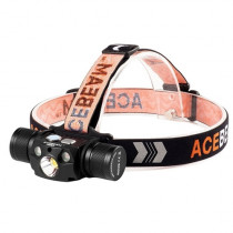 Lanterna profesionala pentru cap Acebeam H30 R+G, 4000 lumeni, 208 m