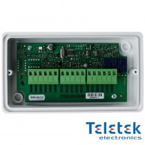 Modul adresabil cu 4 iesiri releu Teletek SensoIris MIO04