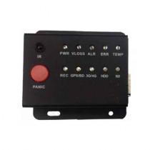 Panou control pentru DVR Auto MLED-BOX, 1 buton panica, 10 LED-uri