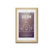 Panou control TFT 5inch cu touch screen aplicat CHTF-05/01.2, senzor proximitate, interfata configurabila, 21-30Vcc