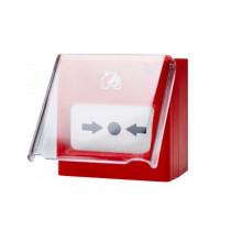 Set 5 geamuri protectie buton Teletek MCP Cover Set 5