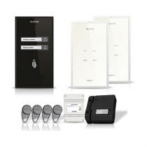 Set interfon Electra Smart INT-ELEC-08, 2 familii, RFID, 4 tag-uri