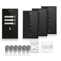 Set interfon Electra Smart INT-ELEC-16, 3 familii, RFID, 6 tag-uri