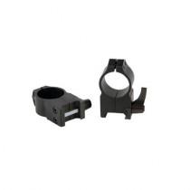 Set prindere 2 inele Warne Scope Quick Weaver 30 mm cu obiectiv 56-62 mm