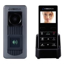 Set videointerfon Ivision Optex VID-OPTEX-01, 1 familie, 2.4 inch, aparent