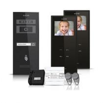 Set videointerfon Electra Smart VID-ELEC-31, 1 familie, aparent, 3.5 inch
