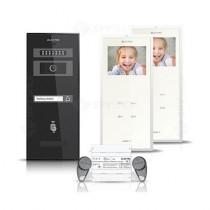 Set videointerfon Electra Smart VID-ELEC-30, 1 familie, aparent, ecran 3.5 inch