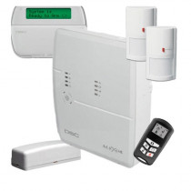 Sistem alarma antiefractie wireless dsc alexor kit495