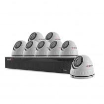 Sistem supraveghere interior basic Acvil B8INT20-2MP, 8 camere, 2 MP, IR 20 m