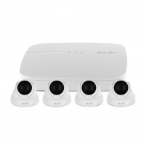 Sistem supraveghere IP interior basic Dahua EZ-IP DH-4INT30-2MP-IP, 2 camere, 2 MP, IR 30 m, 80Mbps