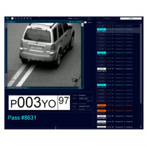Sistem video de recunoastere numere auto LPR Parking Solution