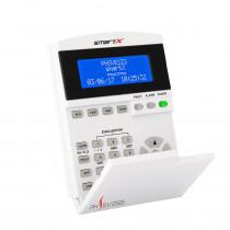 Tastatura-repetor LCD  PH Svesis SmartX KSDA, 12 butoane, alfanumerica, indicator LED
