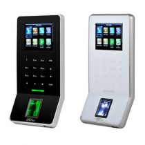 Terminal de control acces si pontaj standalone Zkteco F22, 3000 amprente, 30000 evenimente, 2.4 inch