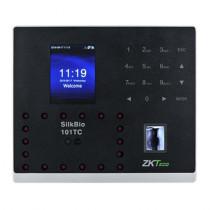 Terminal de control acces si pontaj Zkteco SILKBIO-101-TC, 800 fete, 1500 amprente, 2.8 inch